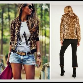Rhodes Leopard Jacket