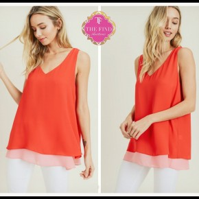 Charlie Top in Red