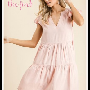 Sally Dress in Blush