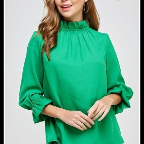 Betsy Top in Green