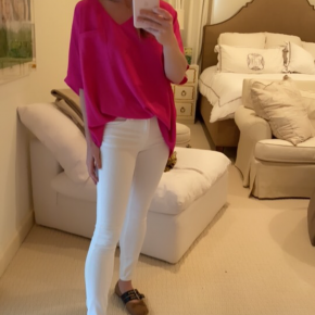 Lily Top in Pink