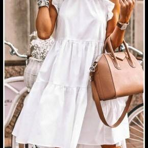 Tanner Dress in White