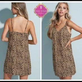 Shelby Leopard Dress