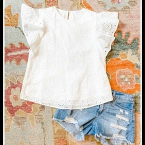 Caroline Top in White