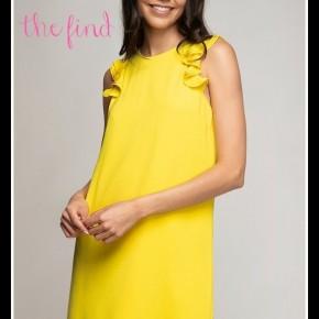 Zoe Dress in Yellow