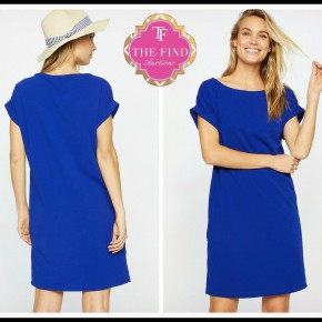 Melanie Dress in Royal