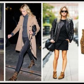 Duncan Leopard Booties