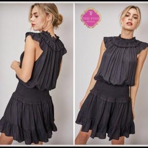 Ashton Dress in Black