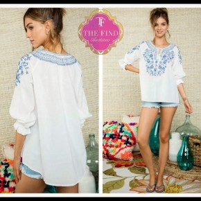 Haley Top in White