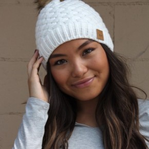 The White Pom Hat