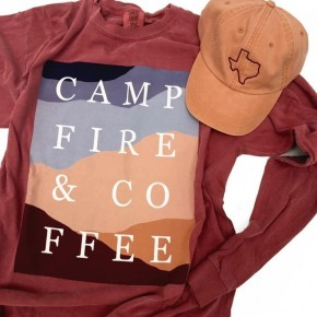 The Campfire and Coffee Tee