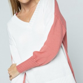 The Two Tone Spring Sweater
