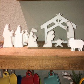 The Wood Nativity Scene