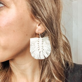 The Macrame Earring
