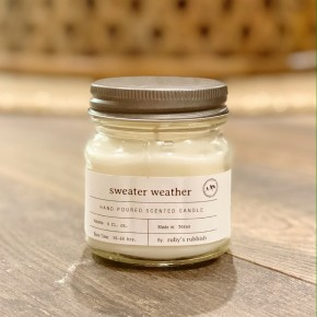 The Sweater Weather Candle