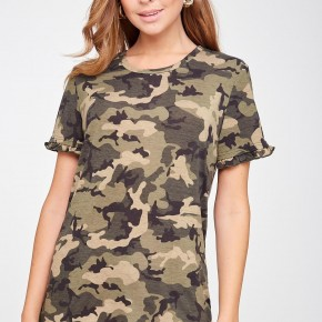 Calee Camo Tee - WEEKEND $20 DEAL!