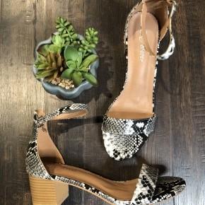 Leopard Nataly Sandal