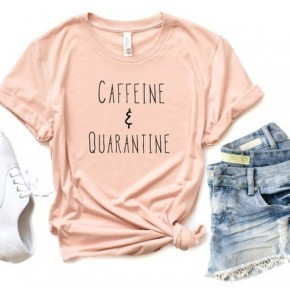 PRE-ORDER AUTHORIZE! Caffeine and Quarantine Softstyle Tee