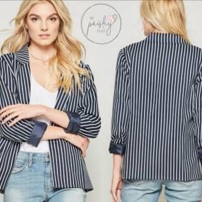 Classic Stripes Blazer