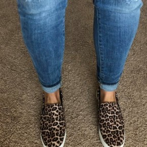Cheetah Slip Ons