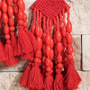 LIGHTWEIGHT Bead and Tassel Earrings