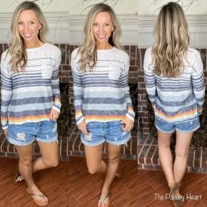 Summer Pullover Lightweight Pocket Sweater - LMTD STOCK!