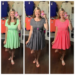 Better in Stripes Dress