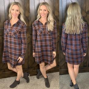 Fab Flannel Dress