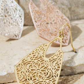 Moroccan Filigree Earrings