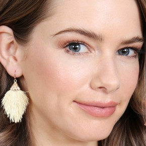 Dainty Tassel Drop Earrings