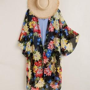 Boldly Floral Kimono