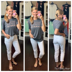 Judy Blue White Boyfriend Fit Denim