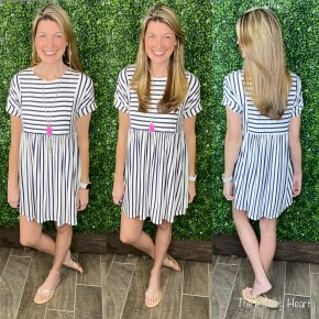 Striped Right Day Dress