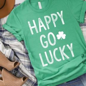 Happy Go Lucky Tee