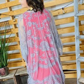 The Curvy Cloud Kimono