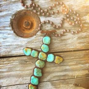 Sookie Cross Necklace