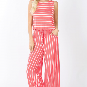 The Striped Jumpsuit