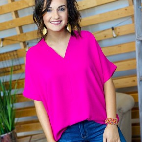 The Hot Pink Williams Top