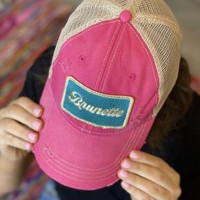 Metallic Brunette Hat