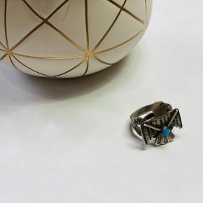 The Boho Eagle Ring