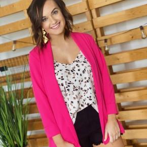 The Hot Pink Kennedy Blazer