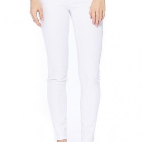 Simply White Skinnies