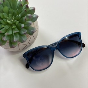 Blue TOMS Sandela Sunnies