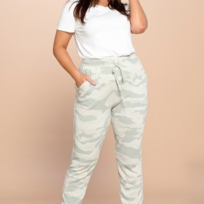 The Curvy Strawberry Fields Lounge Pants