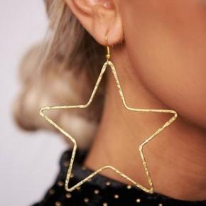 The Golden Star Earrings