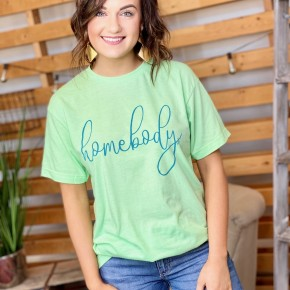 The Mint Homebody Tee