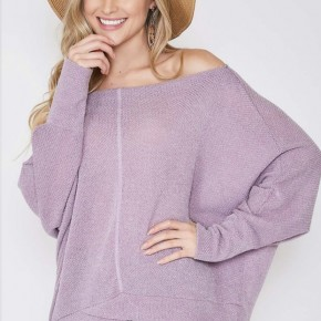The Lavender Knit Top