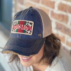 -Boy Mom Hat