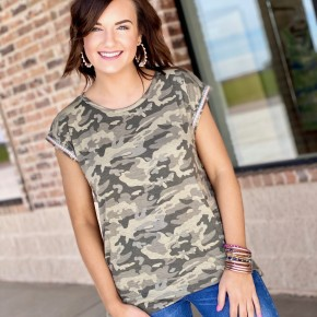 The Braided Camo Top