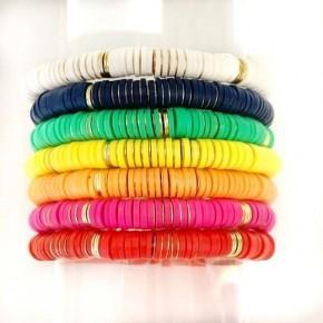 Thick Disk Bracelets
